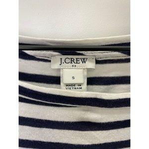 J. Crew Tops - J. Crew Crew Neck Long Sleeve Striped Tee Shirt